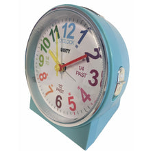 Load image into Gallery viewer, Children's Alarm Clock in Blue