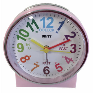 Children's Alarm Clock in Pink