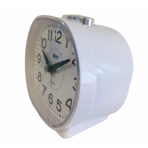 White Bell Alarm Clock