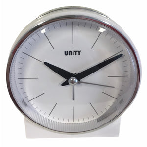 Bell Alarm Clock in Mat White