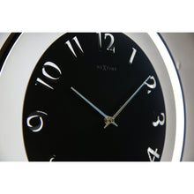 Load image into Gallery viewer, NeXtime - Table clock – 40 x 40.5 cm - Metal - Light unit- Black - 'Ting Table'