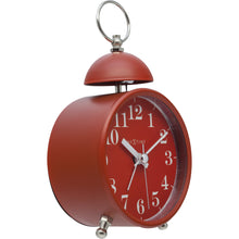 Load image into Gallery viewer, NeXtime - Alarm clock – Ø 16 cm - Metal – Red – Loud Alarm- 'Single Bell'
