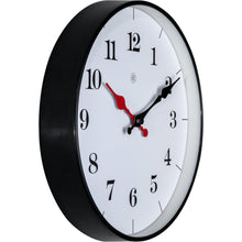 Load image into Gallery viewer, nXt - Wall clock - Ø 25 cm - Plastic - White - 'Bernard'