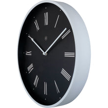 Load image into Gallery viewer, nXt - Wall clock - Ø 40 cm - Plastic - Black - 'Felix'