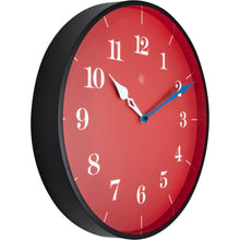 Load image into Gallery viewer, nXt - Wall clock - Ø 40 cm - Plastic - Red - 'Arthur'