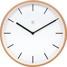 Load image into Gallery viewer, nXt - Wall clock - Ø 30 cm - Plastic - White / Matt Rose - 'Martin'