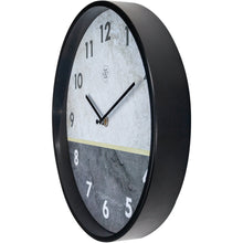 Load image into Gallery viewer, nXt - Wall clock - Ø 30 cm - Metal - Grey - 'Horizon'
