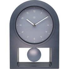 Load image into Gallery viewer, nXt - Table clock - 30 x 20 cm - Plastic - Grey - 'Swing Table'
