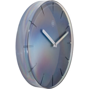 nXt - Wall clock - Ø 29,5 cm - Plastic - Grey - 'Sweet'