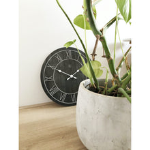 Load image into Gallery viewer, nXt- Wall clock - Ø 40 cm - Wood - Black - 'Paul'