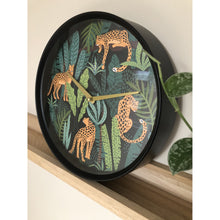 Load image into Gallery viewer, nXt- Wall clock - Ø 30 cm - Plastic - Green - 'Urban Jungle'