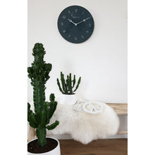 Load image into Gallery viewer, NeXtime - Wall clock - Ø 40 cm - Glass / Metal - Grey - 'Carousel'
