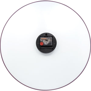 NeXtime - Wall clock - Ø 40 cm - Glass / Metal - Red - 'Gradient'