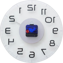 Load image into Gallery viewer, NeXtime - Wall clock – Ø 30 cm - Glass – Transparent – 'Classy Round'