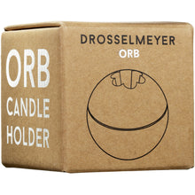 Load image into Gallery viewer, Drosselmeyer Orb Candle Holder in Black Cast Iron