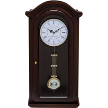 Load image into Gallery viewer, Burnley Walnut Pendulum Clock