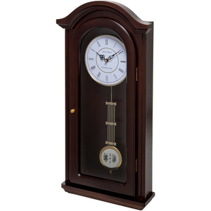 Burnley Walnut Pendulum Clock
