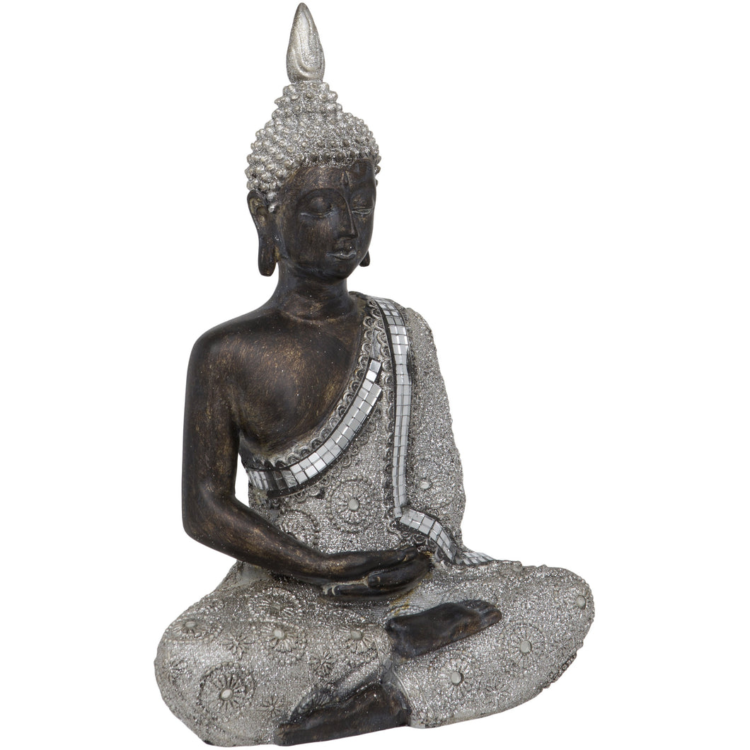 Thai Sitting Meditating Buddha 11-inch