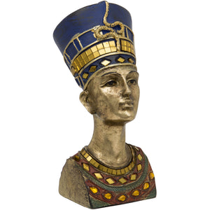 Gold Nefertiti Bust