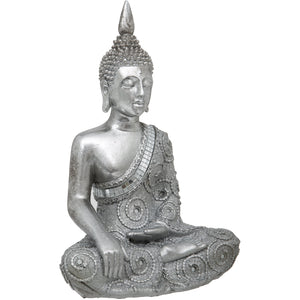 Thai Sitting Earth Touching Buddha 11-inch