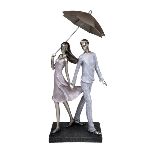 Couple Dancing with Umbrella