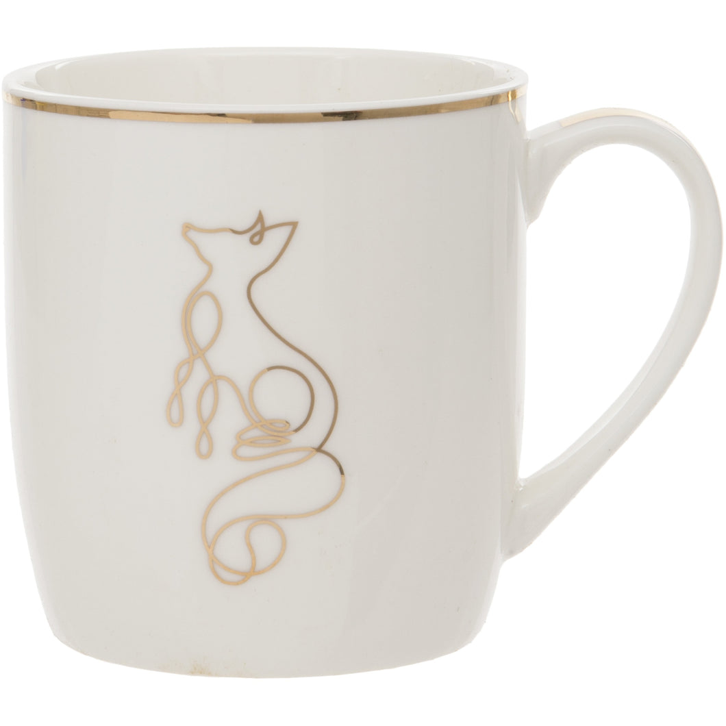 Fox Design Fine China Mug