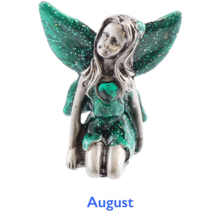 Pewter Birthstone Fairy - August