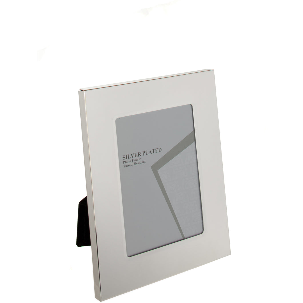 Silver Plated Thick Edge Photo Frame 6 x 8-inch