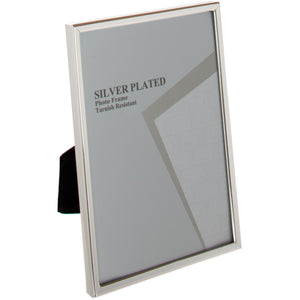 Silver Plated Thin Edge Photo Frame 10 x 12 -inch