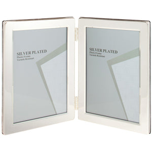 Flat Edge Double 4 x 6 Photo Frame (Qty 72)