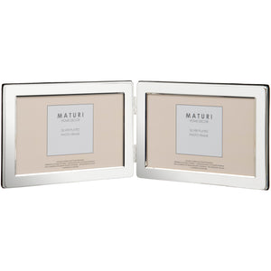 Silver Plated Landscape Photo Frame 7 x 5 -inch