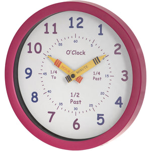 Henley Pink Wall Clock