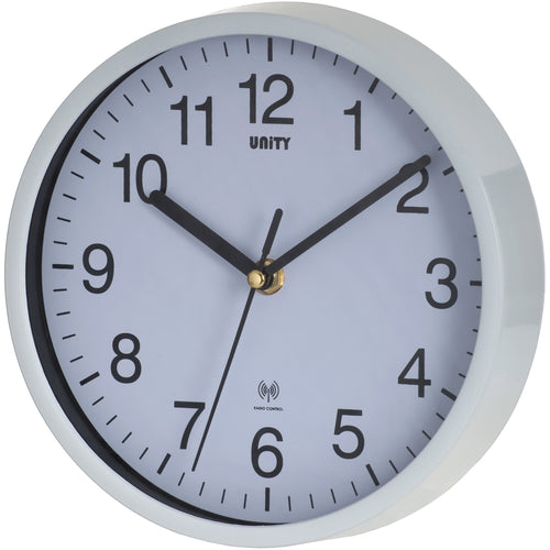 Radcliffe White Radio Controlled Wall Clock