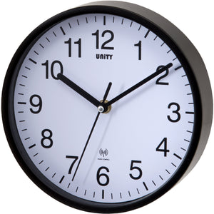 Radcliffe Black Radio Controlled Wall Clock