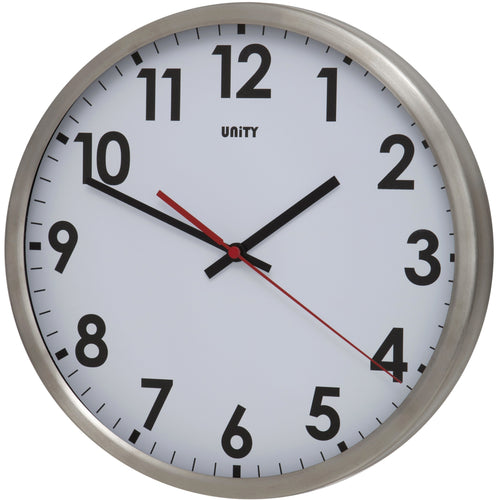 Gairn 30cm Stainless Steel Wall Clock