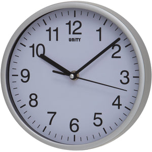 Radcliffe Silver Wall Clock