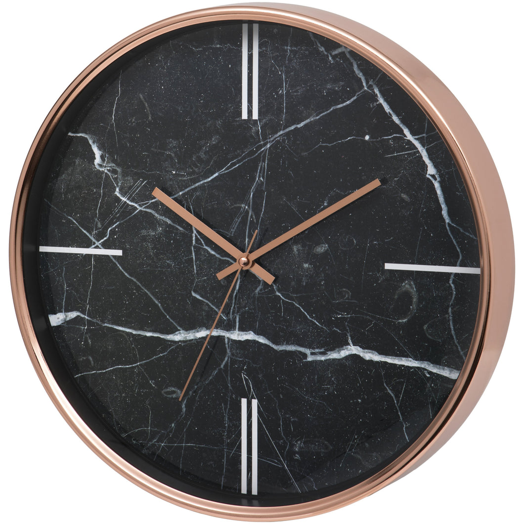Bolton Marble Effect Wall Clock