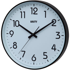 Fradley Black Wall Clock