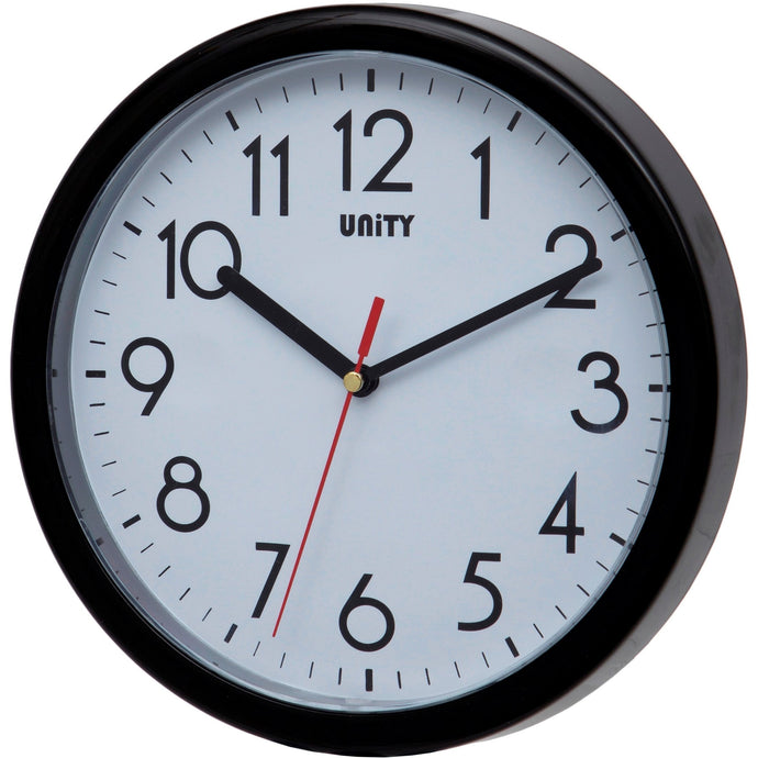 Hastings Black Wall Clock