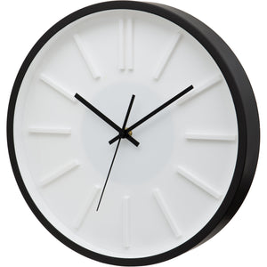 Atlanta Raised Dial Silent Sweep Wall Clock