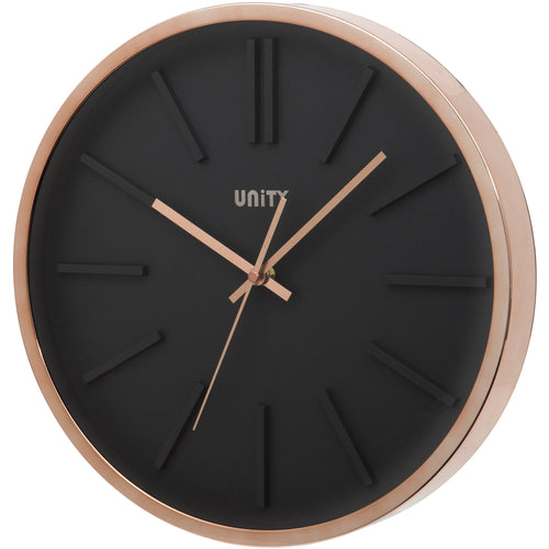Missouri Wall Clock with Rose Gold Case