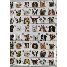 Load image into Gallery viewer, Dogs in Line Notebook A5