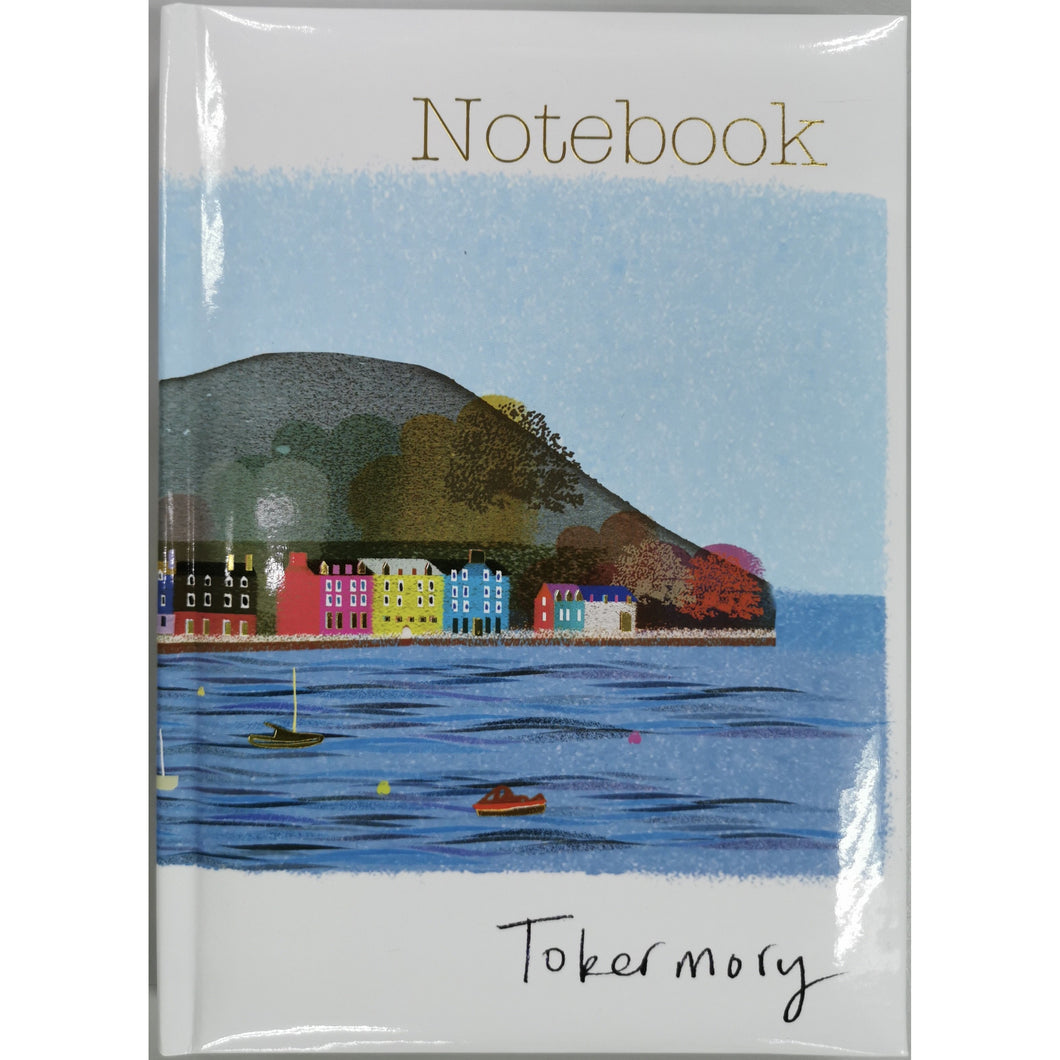 Tobermory Beach Scene Notebook A5