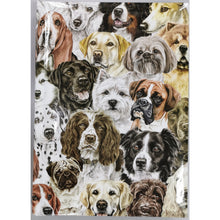 Load image into Gallery viewer, Dog Montage Notebook A5