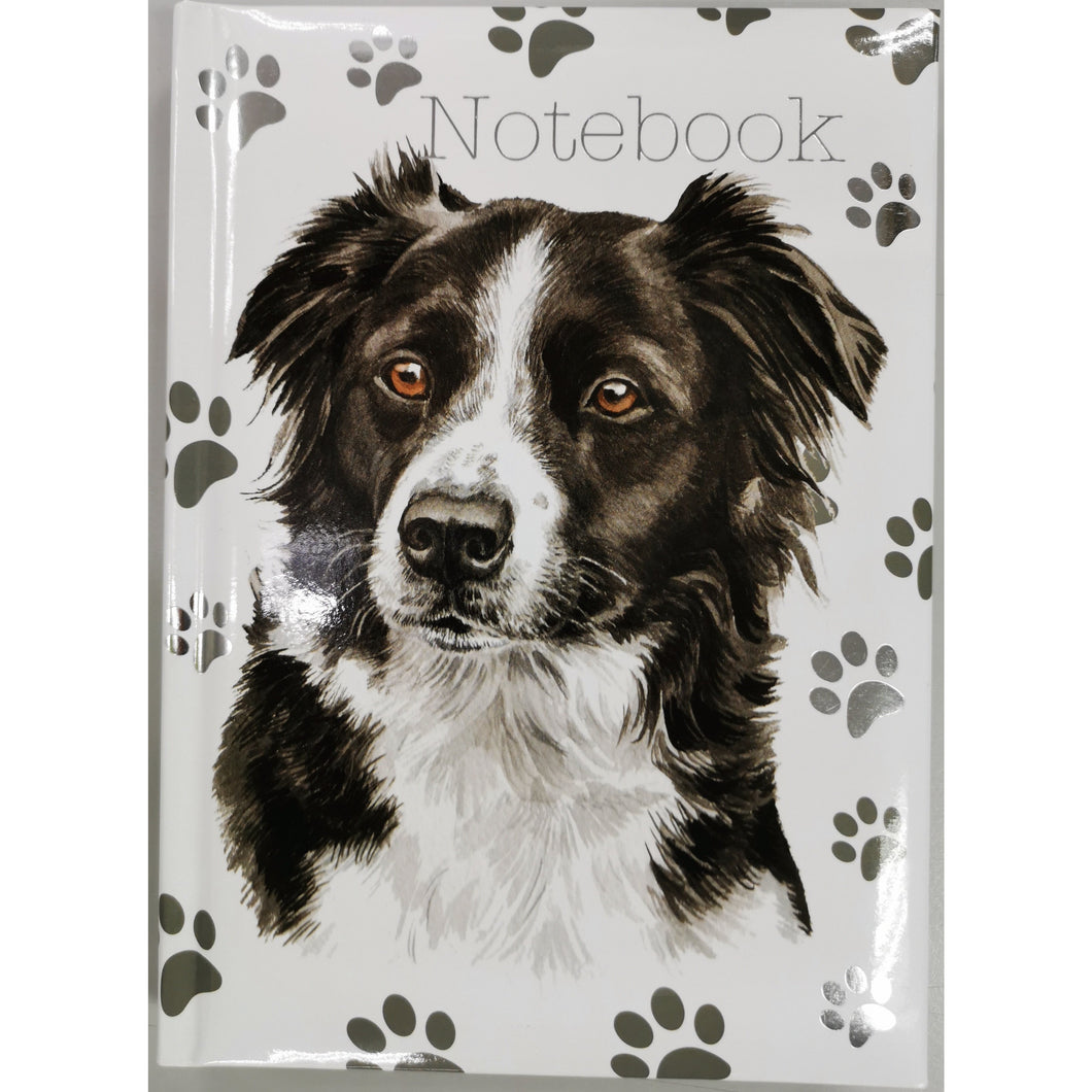 Border Collie Notebook A5