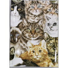 Load image into Gallery viewer, Cats Montage Notebook A5