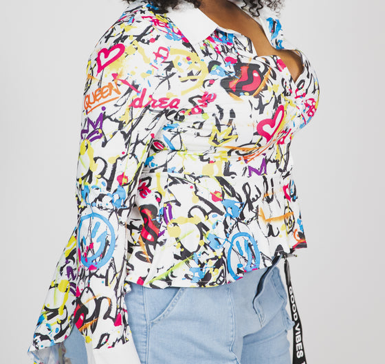 Love Me Colorfully Blouse
