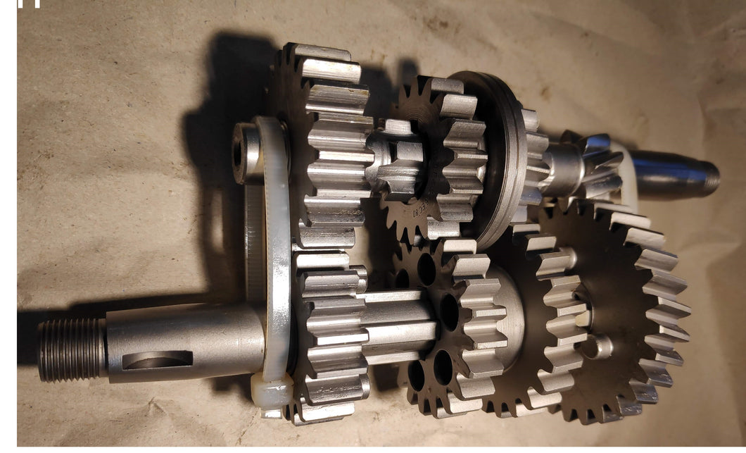 Gearbox set complete for KR200 Sachs Motor