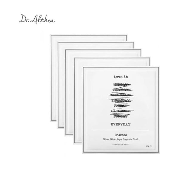 DR. ALTHEA™ Water Glow Aqua Ampoule Mask (5pcs)
