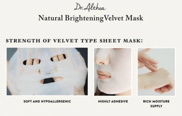 DR. ALTHEA™ Natural Brightening Velvet Mask (6 pack)